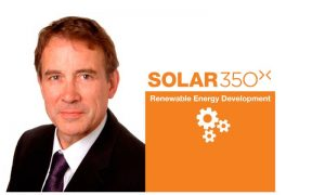 David Burns joins Solar 350 as Chairman