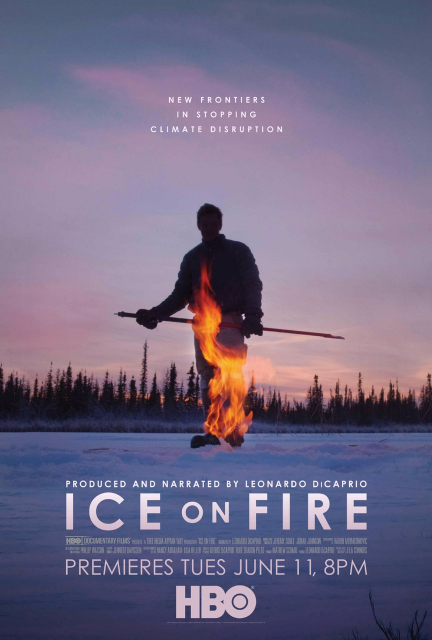 Ice on Fire – 2019 Documentary shows Techniques to reduce Climate change.